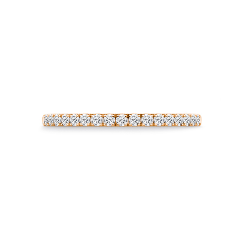 Flora in 18K Rosegold with 0,25ct diamond