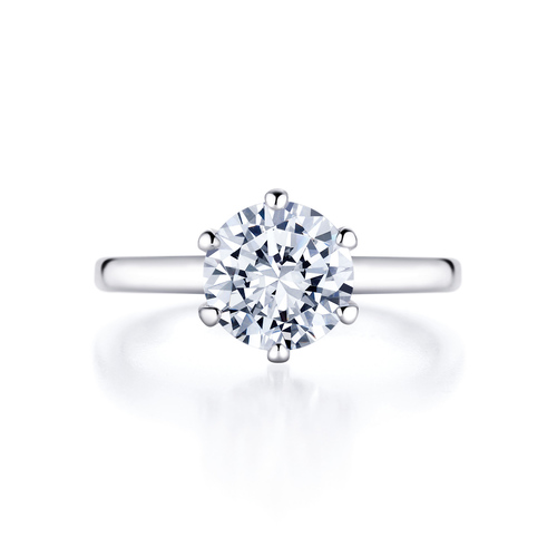Lucie in 18K whitegold with 2,0ct diamond