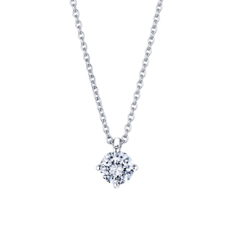 Jasmine in 18K whitegold with 0,50ct diamond