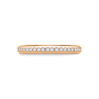 Aja in 18K Rosegold with 0,30ct diamond
