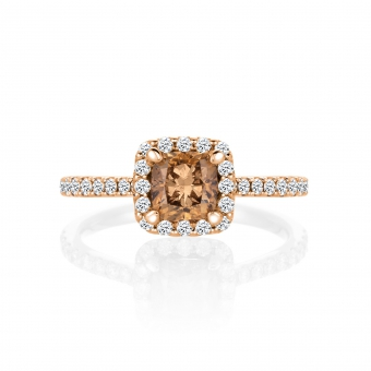 Elsa in 18K Rosegold with 1,50ct diamond