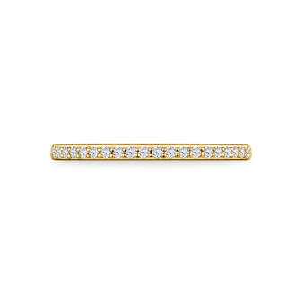 Aeon in 18K yellowgold with 0,13ct diamond