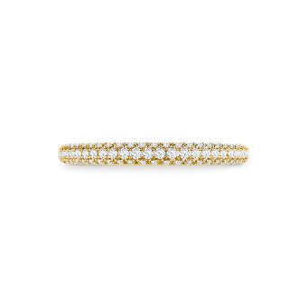 Sparkle in 18K yellowgold with 0,27ct diamond
