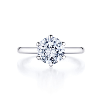 Lucie In 18k Whitegold With 2 0ct Diamond 2 0ct