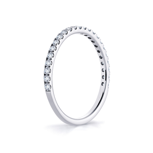 Ares in 18K whitegold with 0,35ct diamond
