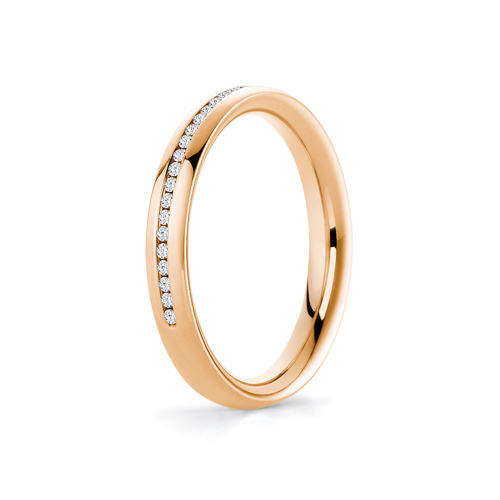 Diana in 18K Rosegold with 0,20ct diamond