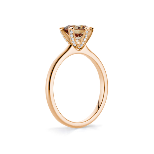 Sophie in 18K Rosegold with 1,66ct diamond