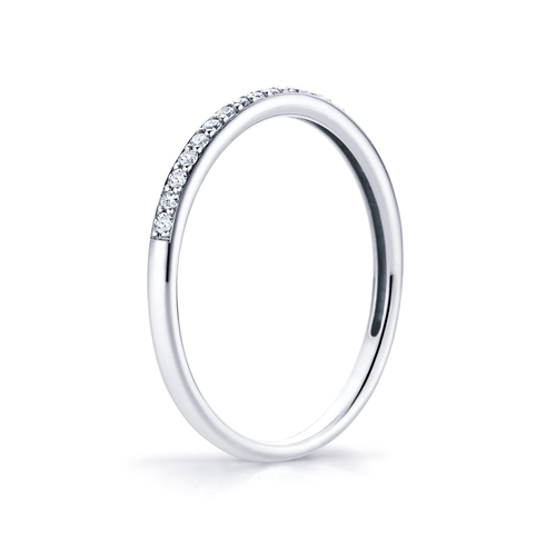 Aeon in 18K whitegold with 0,13ct diamond