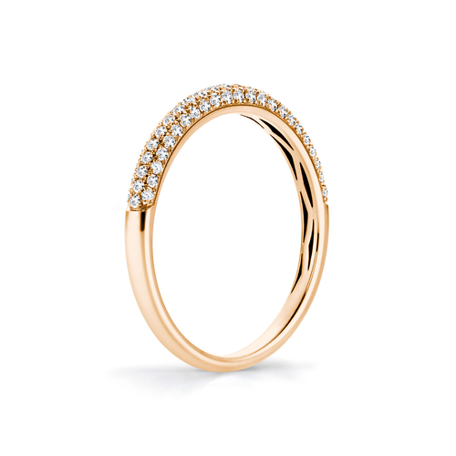 Sparkle in 18K Rosegold with 0,27ct diamond