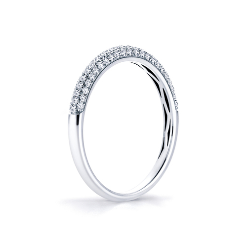 Sparkle in 18K whitegold with 0,27ct diamond