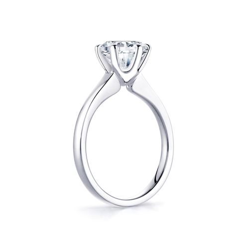 Rose in 18K whitegold with 2,0ct diamond