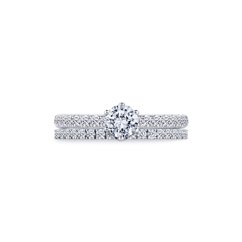 Lea in 18K whitegold with 0,75ct diamond