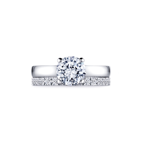 Jasmine in 18K whitegold with 1,50ct diamond